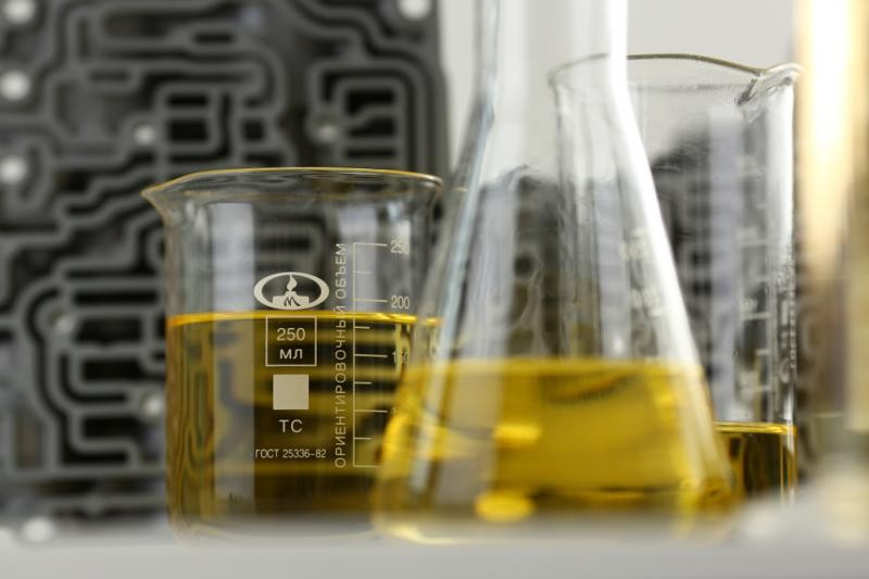 Análise de óleo lubrificante