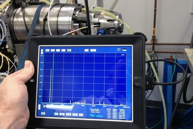 Medição e análise de vibrações